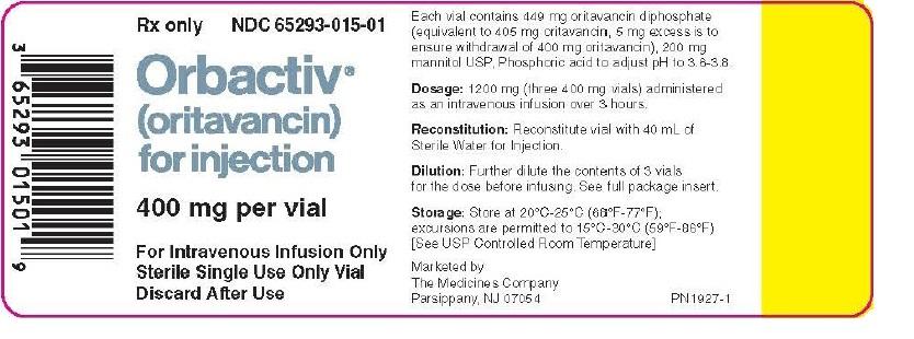 Oritavancin, Drug Med